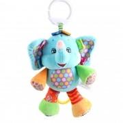 Pelucia Musical Chocalho Elefante para bebê Interativo