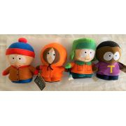 Pelucia South Park kit 4 personagens