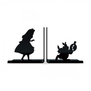 Porta Livros Alice no País das Maravilhas - Wonderland