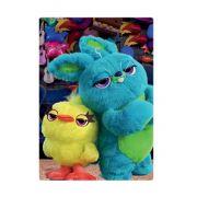 Quebra Cabeça Infantil 60 peças Toy Story Duck e Bunny Toyster