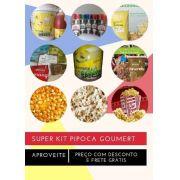 Super Kit Pipoca Gourmet com 15 Itens Filme com Pipoca