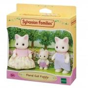 Sylvanian Families Família dos Gatos Primavera 5373 Epoch