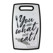 Tabua de Corte Frase Divertida You Are What Eat Tabua de Cozinha