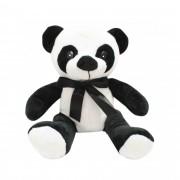Urso de pelucia Panda Médio com Laço Lindo