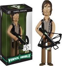 Funko Estátua Daryl Dixon - 21 Cm Vinyl Idolz - Walking Dead  - Game Land Brinquedos