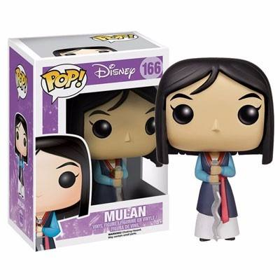 Funko Pop Mulan Princesa Da Disney  - Game Land Brinquedos