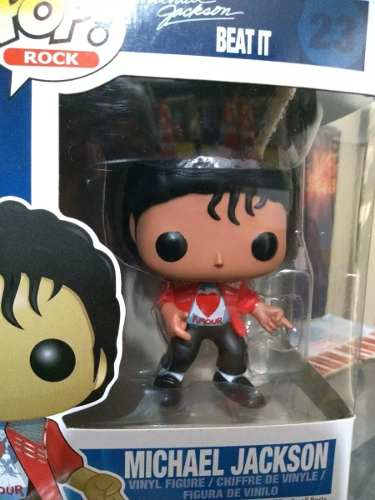 Funko Pop Rock Michel Jackson Beat It # 23  - Game Land Brinquedos