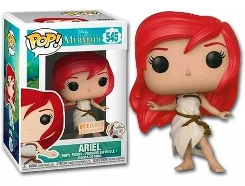 Funko Pop Disney The Little Mermaid Ariel Boxlunch Exclusivo  - Game Land Brinquedos