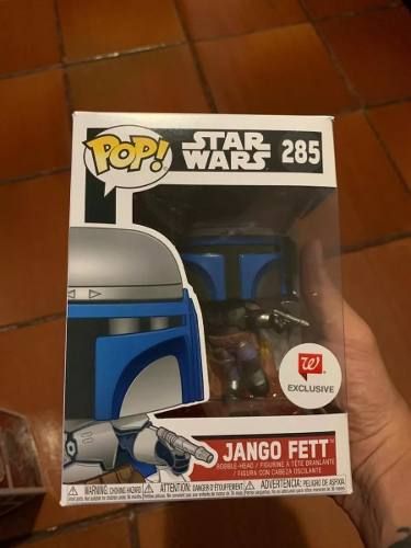 Funko Pop Star Wars Jango Fett Exclusivo - Game Land Brinquedos