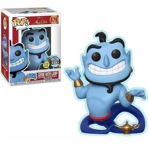 Funko Pop Disney Genio Aladim Brilha No Escuro Exclusivo - Game Land Brinquedos