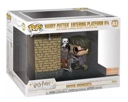 Funko Pop Harry Potter Movie Moments Plataforma  - Game Land Brinquedos