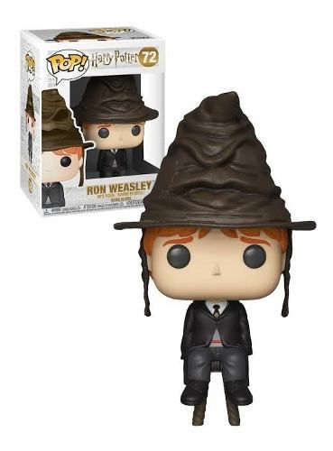 Funko Pop Ron Weasley Sorting Hat #72 Harry Potter  - Game Land Brinquedos