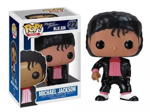 Funko Pop Rock Michael Jackson Billie Jean # 22 - Game Land Brinquedos