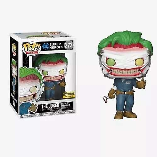 Funko Pop Dc The Joker Hot Topic # 273  - Game Land Brinquedos
