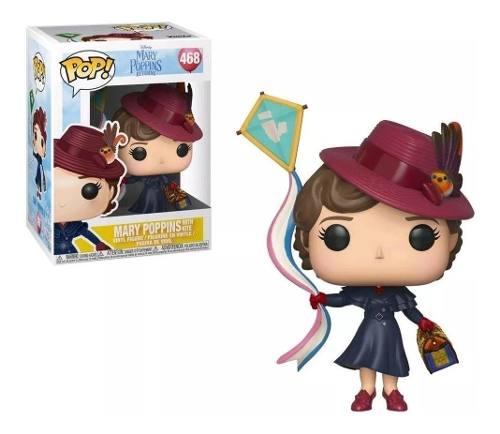 Funko Pop Disney Mary Poppins Com Pipa # 468  - Game Land Brinquedos