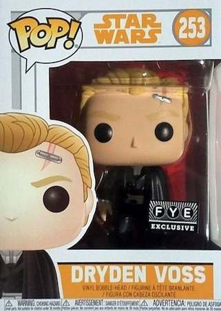 Funko Pop Star Wars Dryden Voss Exclusivo Fye  - Game Land Brinquedos
