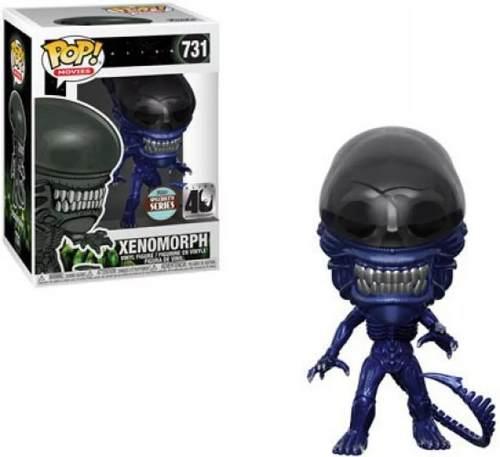 Funko Pop Movies Xenomorph Alien Novo Azul Metálico # 731  - Game Land Brinquedos