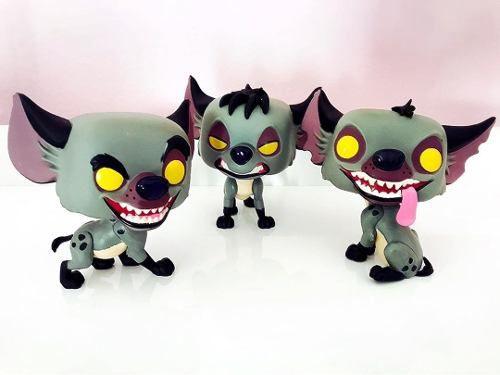 Funko Pop Hienas Rei Leão Banzai Shenzi Ed Versão Exclusiva  - Game Land Brinquedos
