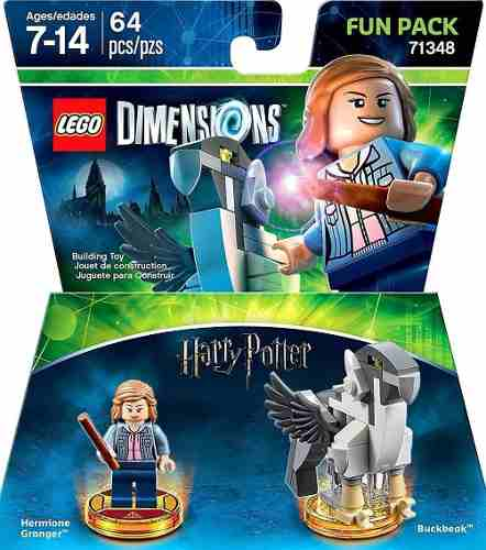 Lego Dimensions Fun Pack Hermione 71348  - Game Land Brinquedos