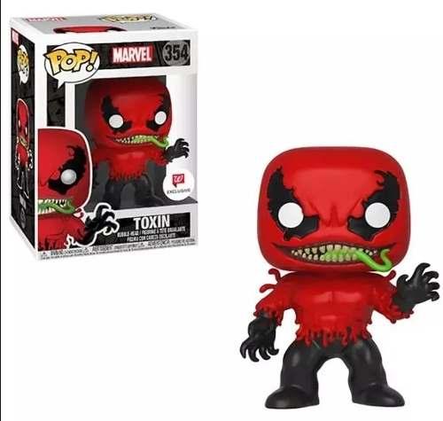 Funko Pop Toxin Marvel Exclusivo  - Game Land Brinquedos
