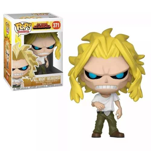 Funko Pop My Hero Academia All Might (weakened) # 371  - Game Land Brinquedos