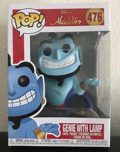 Funko Pop Genie With Lamp - Genio Aladim  - Game Land Brinquedos