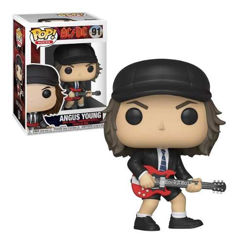 Funko Pop Angus Young Banda Ac Dc Rock  - Game Land Brinquedos