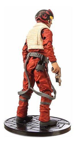 Figura Star Wars Poe Dameron Die Cast Elite Disney Store  - Game Land Brinquedos