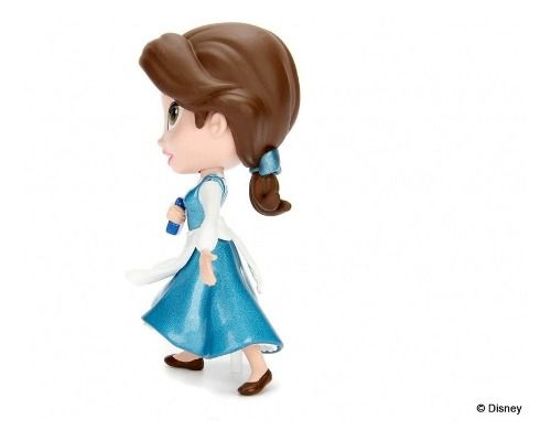 Boneco Disney Metalfigs Belle Provincial - Princesa Bela  - Game Land Brinquedos