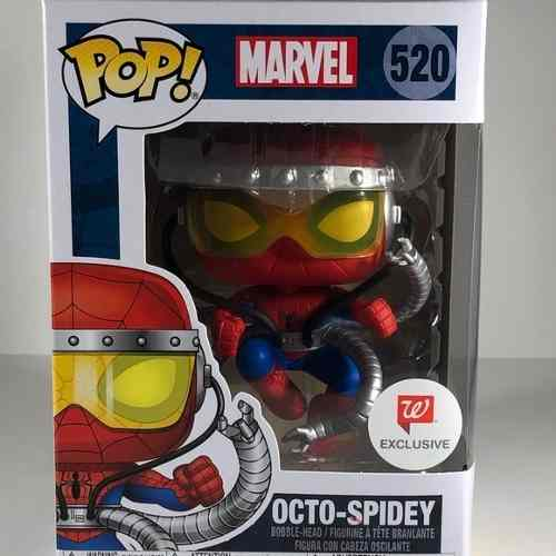 Funko Pop Octo-spidey Walgreens Exclusivo Marvel Spider-man  - Game Land Brinquedos