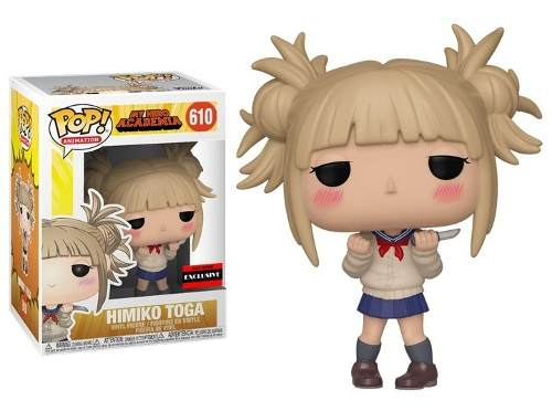 Funko Pop Himiko Toga My Hero Academia 610 Exclusivo  - Game Land Brinquedos