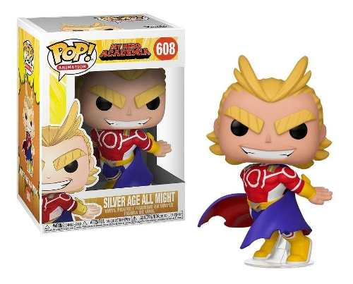 Funko Pop Silver Age All Might My Hero Academia Mha #608  - Game Land Brinquedos