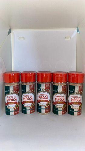 Tempero Pipoca Gourmet Salgada - Sabor Pizza 5 Unid 90 Gr  - Game Land Brinquedos
