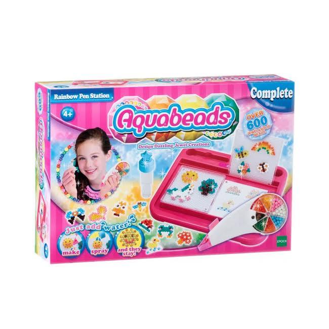 Aquabeads Brinquedo Estação Caneta Arco Irís Epoch 30618  - Game Land Brinquedos