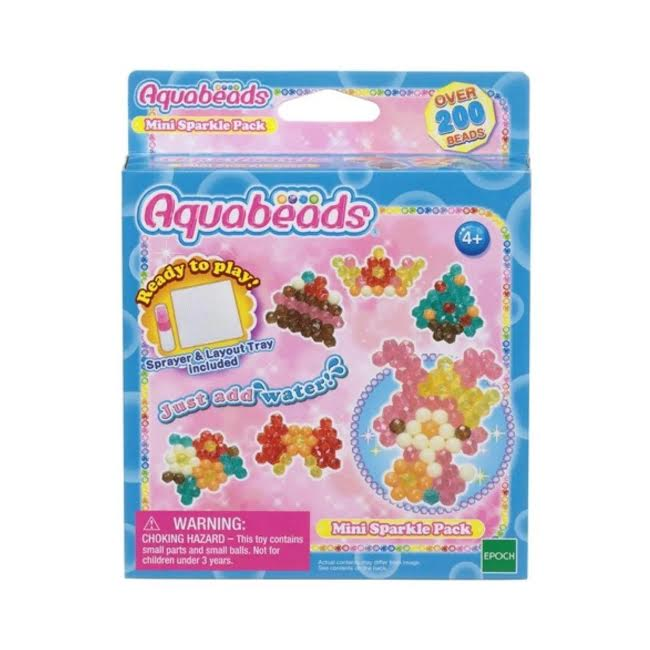 Aquabeads Conjunto Mini Beads Brilhantes Epoch Completo  - Game Land Brinquedos