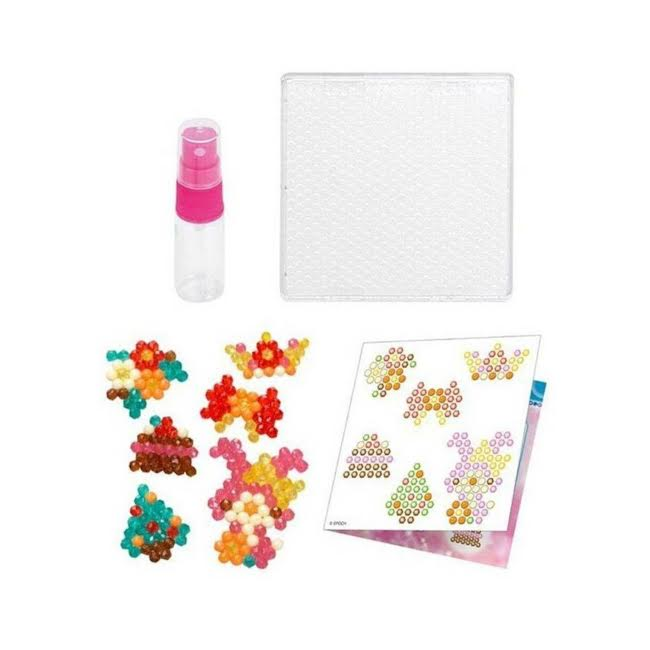 Aquabeads Conjunto Mini Beads Brilhantes Epoch Completo - Game Land Brinquedos