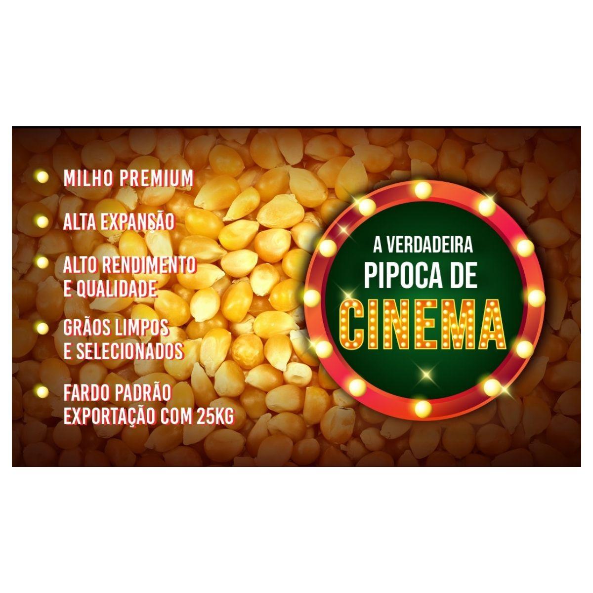 Atacado Para Pipoqueiro Milho Premium Pipoca Cinema 25 kg.  - Game Land Brinquedos