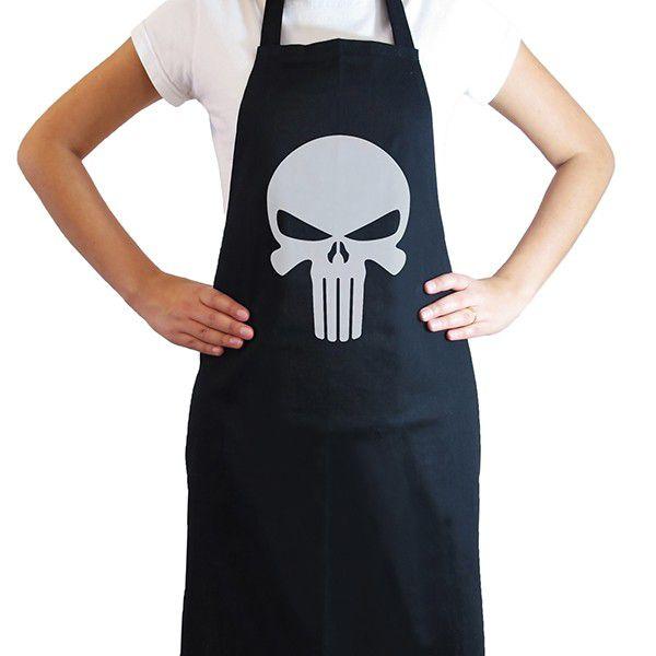 Avental de Cozinha Punisher Geek  - Game Land Brinquedos