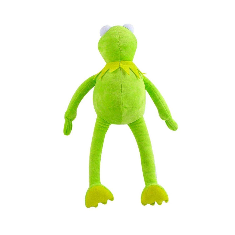 Bicho de Pelúcia Caco o Sapo Kermit dos Muppets  - Game Land Brinquedos
