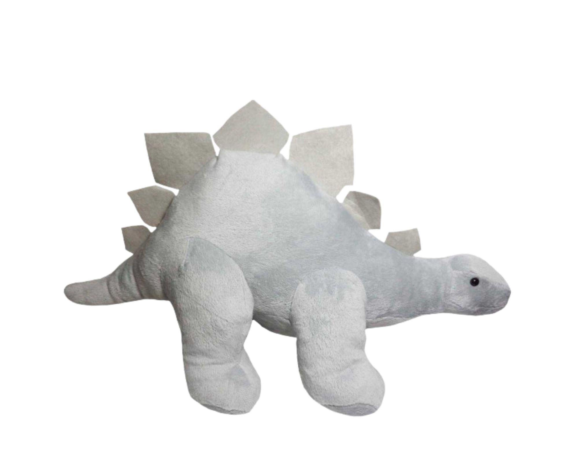 Dinossauro Estegossauro Grande 50 cm Bicho de Pelucia  - Game Land Brinquedos