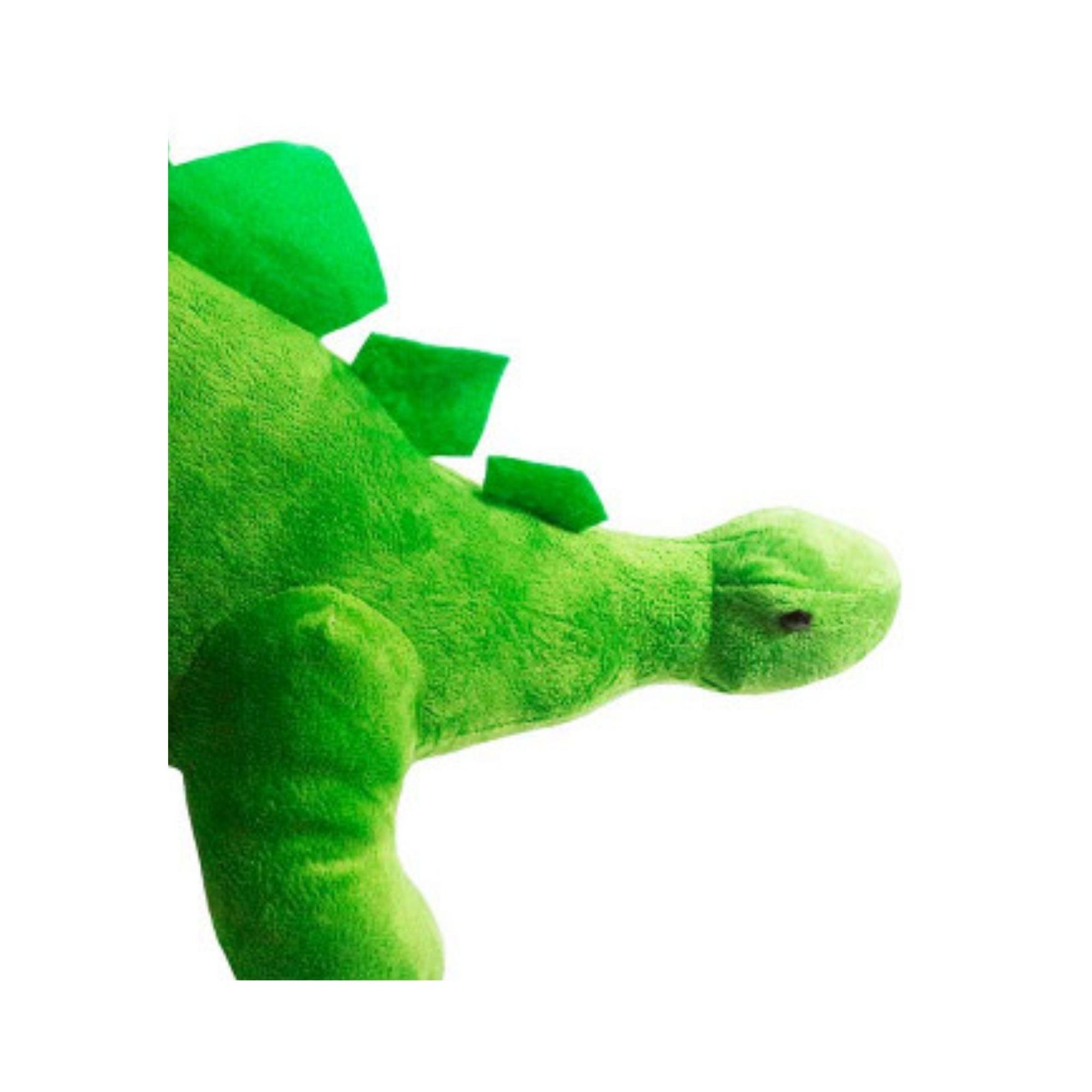 Bicho de Pelucia Dinossauro Estegossauro Grande 50 cm   - Game Land Brinquedos