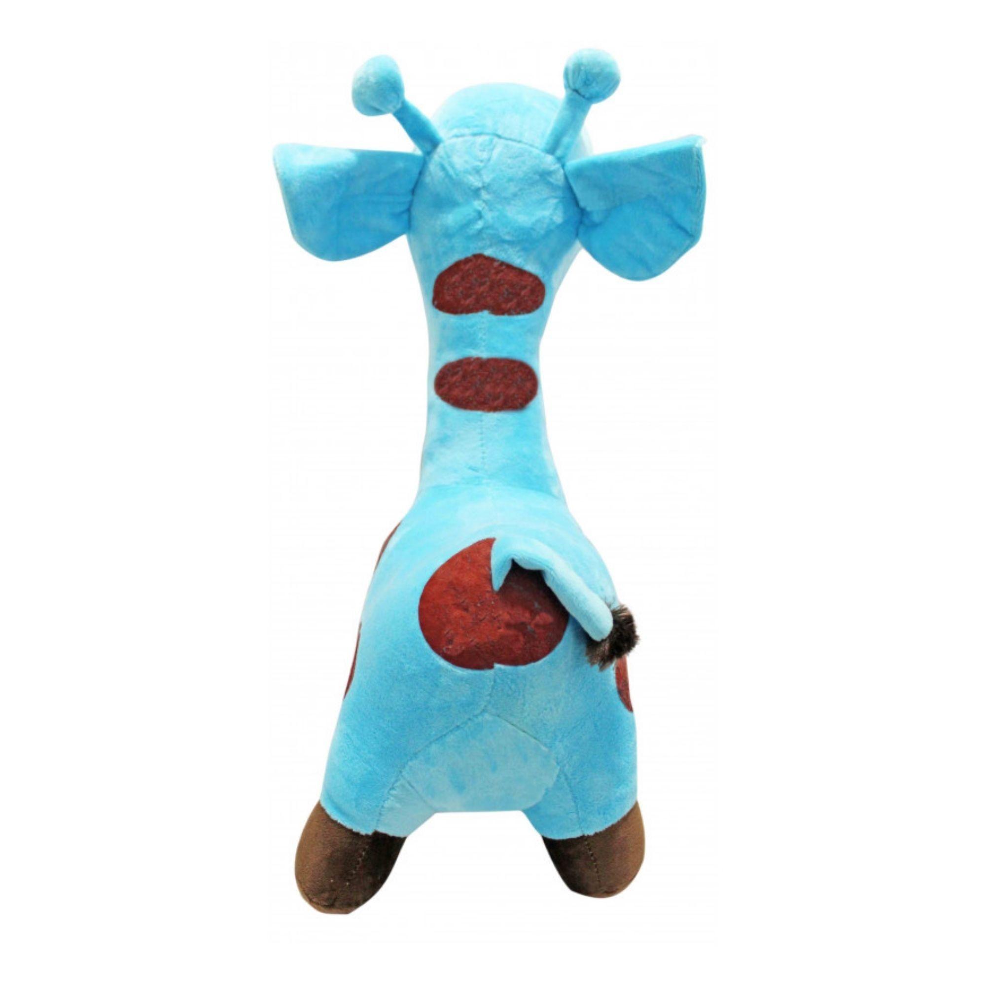 Bicho de Pelucia Girafa Antialérgia para Bebês  - Game Land Brinquedos