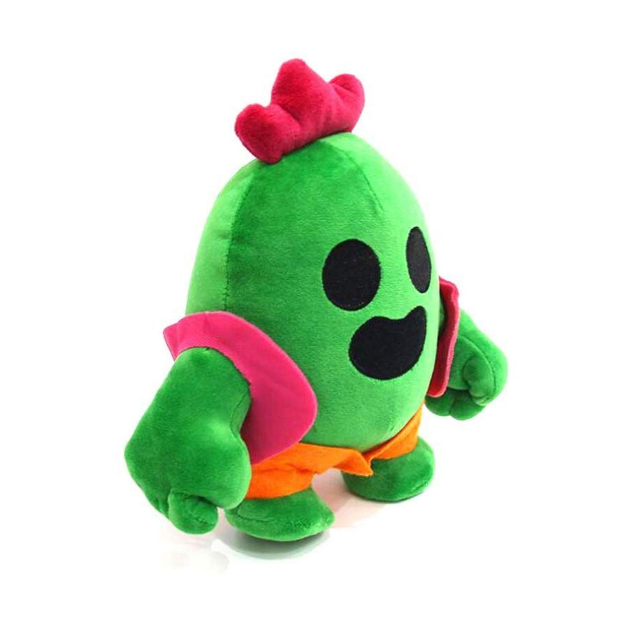 Bicho de Pelúcia Spike do Jogo Brawl Stars  - Game Land Brinquedos