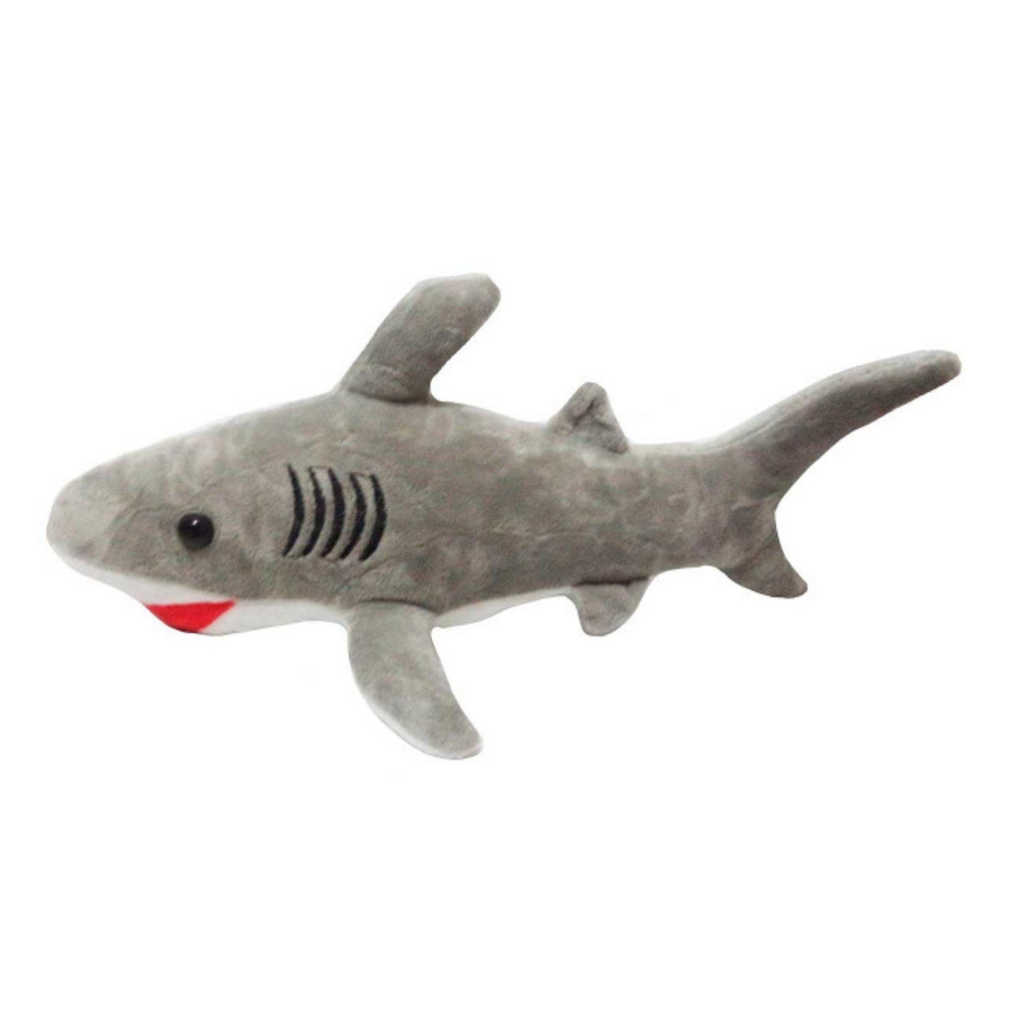 Bicho de Pelucia Tubarão Antialérgico 40 cm  - Game Land Brinquedos