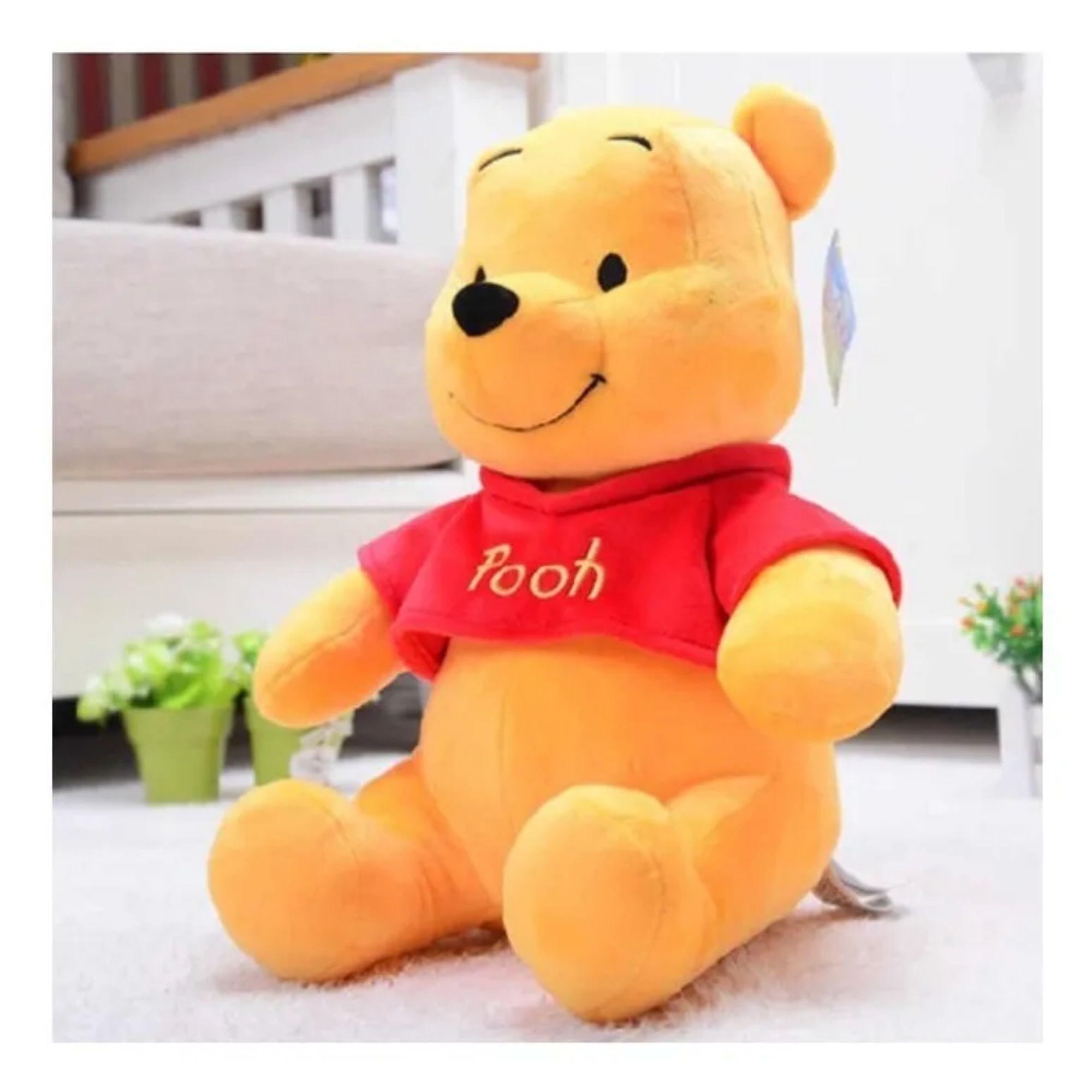 Bicho de Pelucia Urso Ursinho Pooh Puff   - Game Land Brinquedos