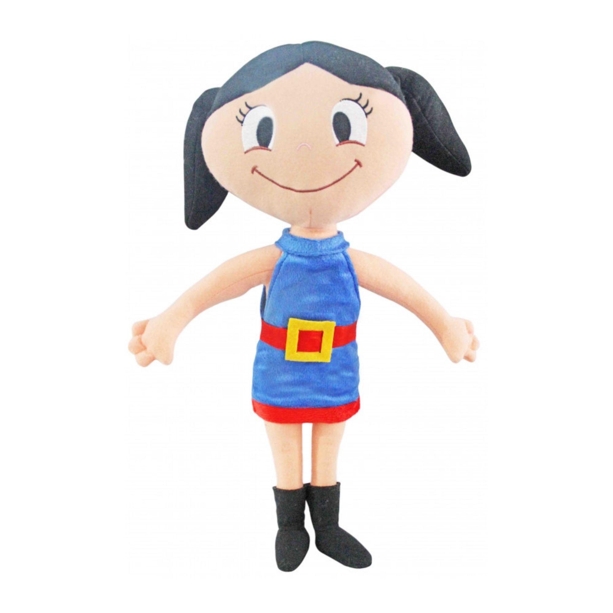 Boneca Luna de Pelucia Grande O Show de Luna 47 cm  - Game Land Brinquedos