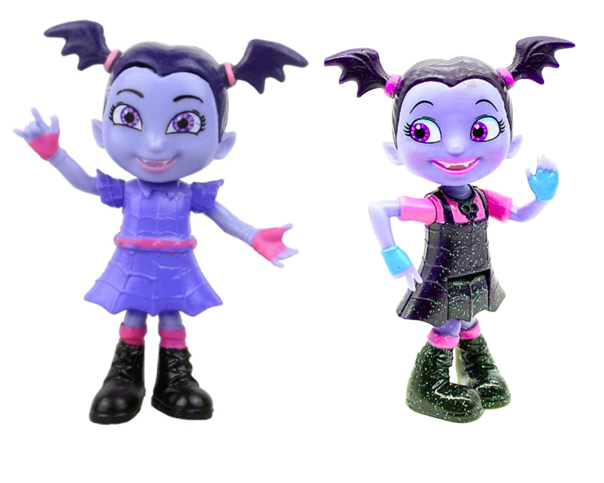 Boneca Vampirina 9 cm Vestido Preto ou Roxo  - Game Land Brinquedos