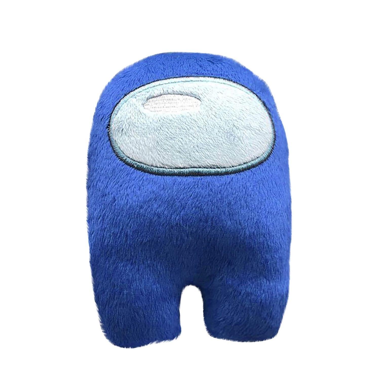Boneco Among Us Brinquedo Pelucia O Impostor Cor Azul  - Game Land Brinquedos