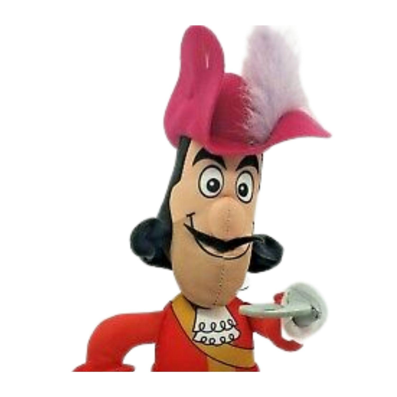 Boneco Capitão Gancho do desenho da Disney Peter Pan  - Game Land Brinquedos