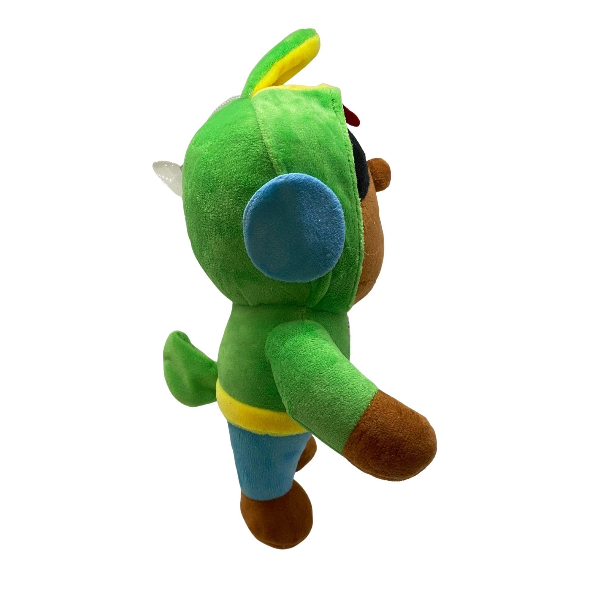 Boneco de Pelúcia Leon do Jogo Brawl Stars  - Game Land Brinquedos